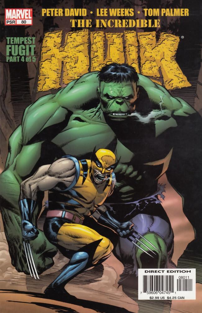 Couverture de Incredible Hulk (The) (Marvel comics - 2000) -80- Tempest fugit part 4 of 5
