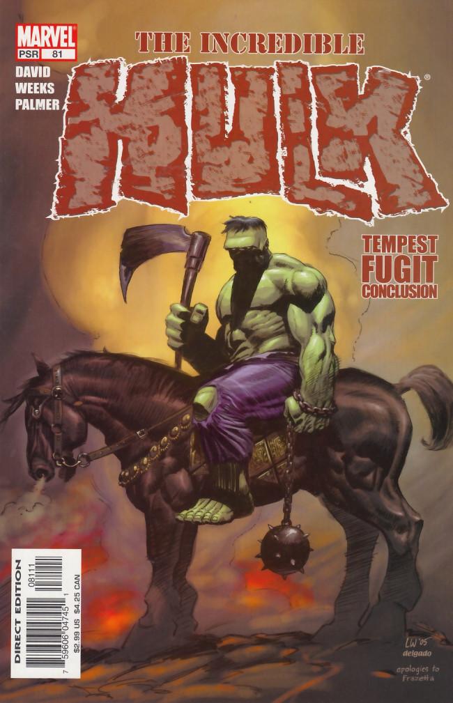 Couverture de Incredible Hulk (The) (Marvel comics - 2000) -81- Tempest fugit part 5 of 5