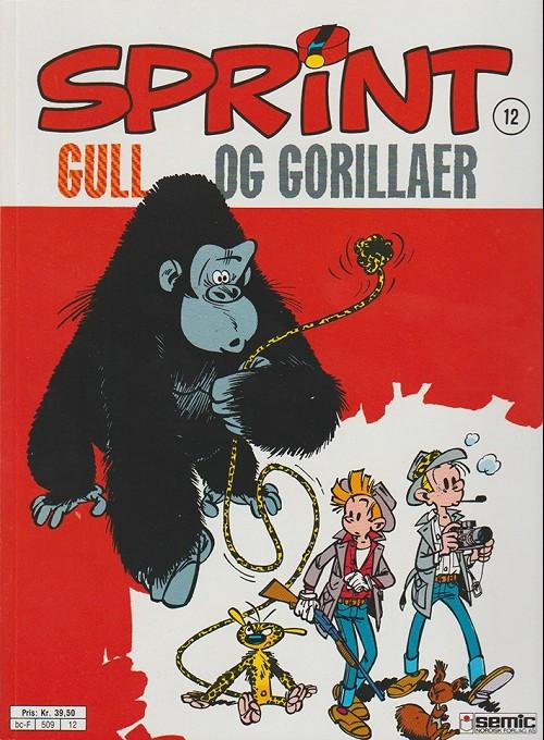 Couverture de Sprint -12- Gull og gorillaer