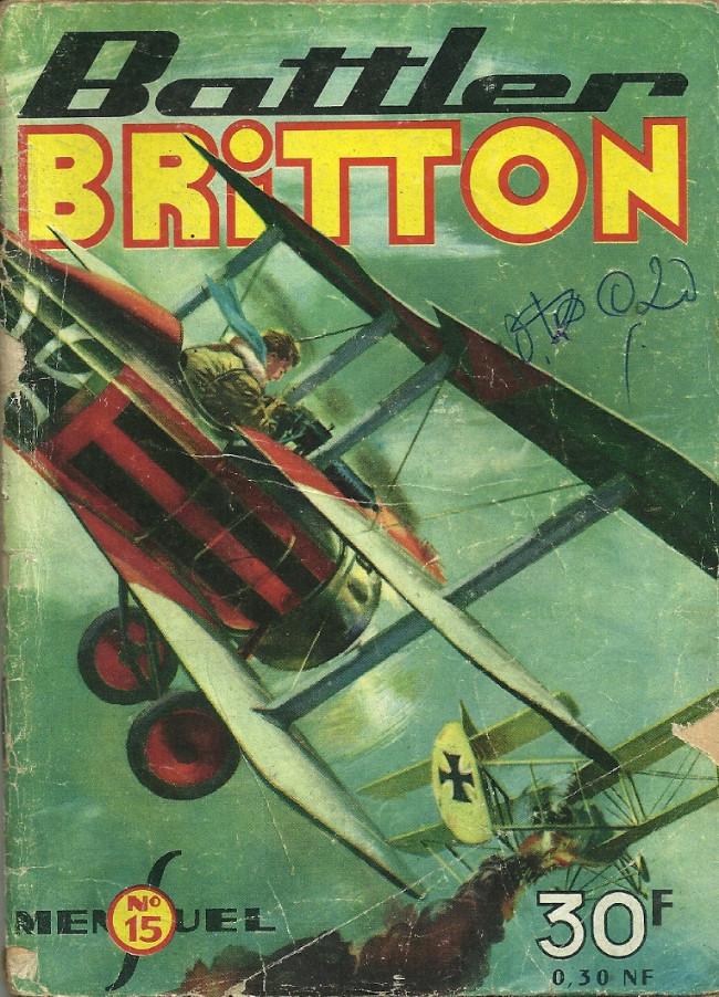 Couverture de Battler Britton -15- Echec aux croiseurs