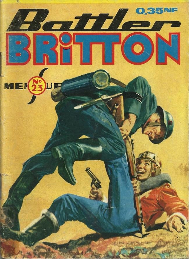 Couverture de Battler Britton (Imperia) -23- Dans le repaire des requins