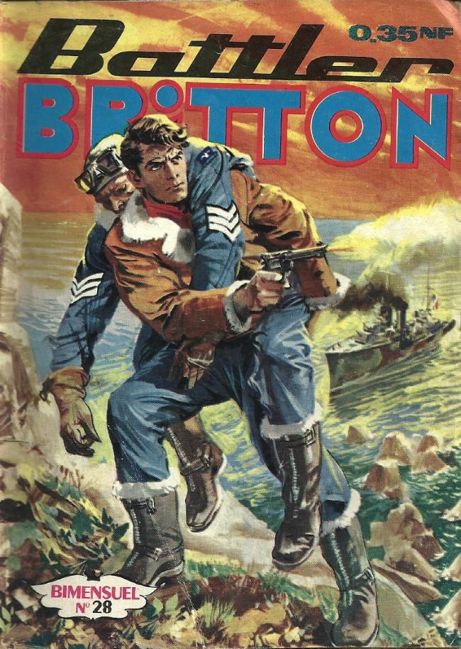 Couverture de Battler Britton -28- Les naufragés