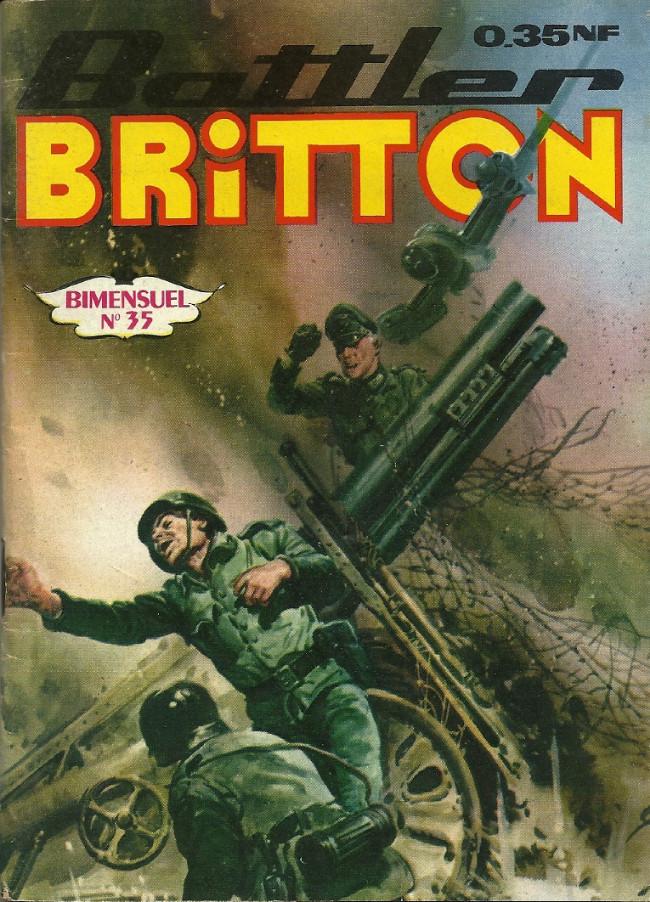 Couverture de Battler Britton -35- L'armée de l'espoir