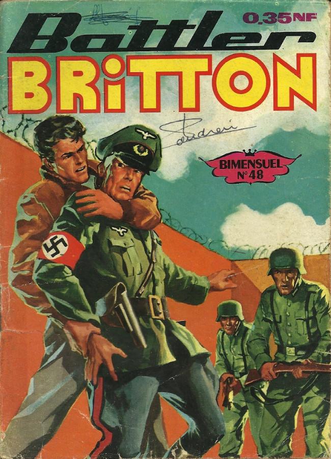 Couverture de Battler Britton (Imperia) -48- L'opération Schmidt