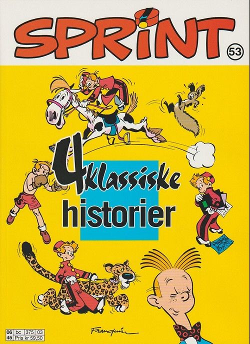 Couverture de Sprint -53- 4 klassiske historier