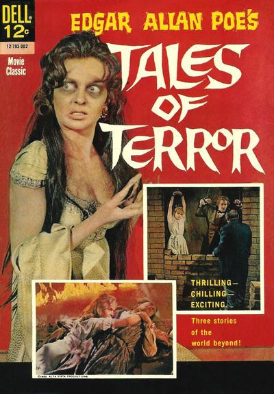 Couverture de Movie Classics (Dell - 1962) -793- Edgar Allan Poe's Tales of Terror