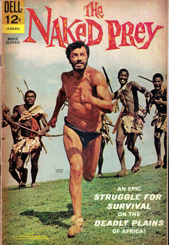 Couverture de Movie Classics (Dell - 1962) -545- The Naked Prey