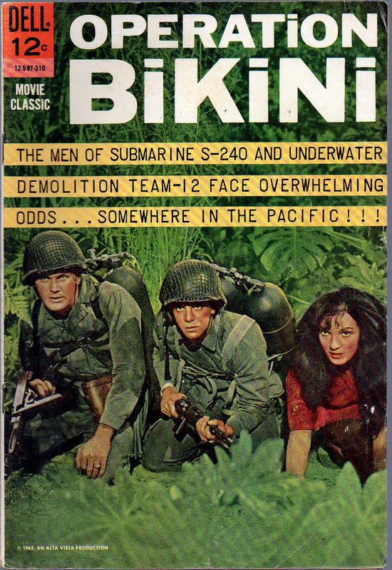 Couverture de Movie Classics (Dell - 1962) -597- Operation Bikini