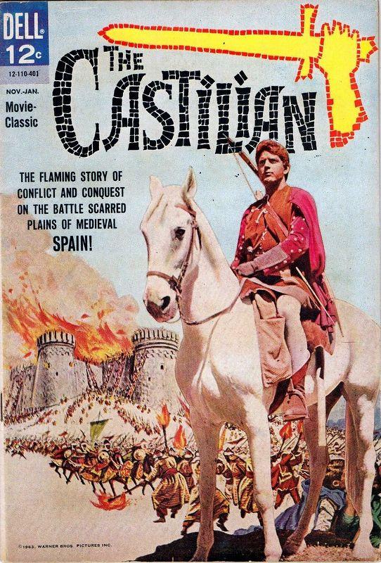 Couverture de Movie Classics (Dell - 1962) -110- The Castilian