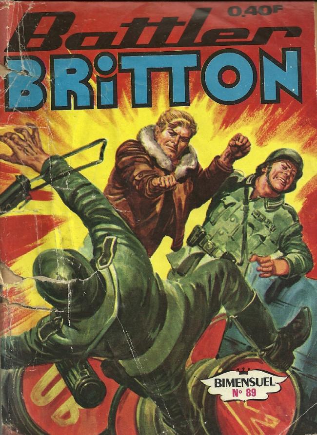 Couverture de Battler Britton -89- Piège sur Essen