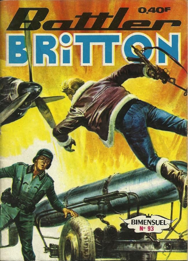 Couverture de Battler Britton (Imperia) -93- Le nid de guèpes