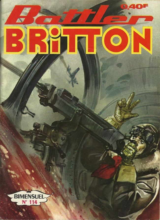 Couverture de Battler Britton -114- L'avion pirate