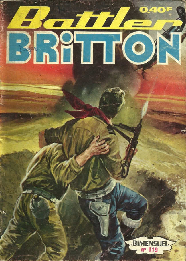 Couverture de Battler Britton -119- La fin du prince adolf