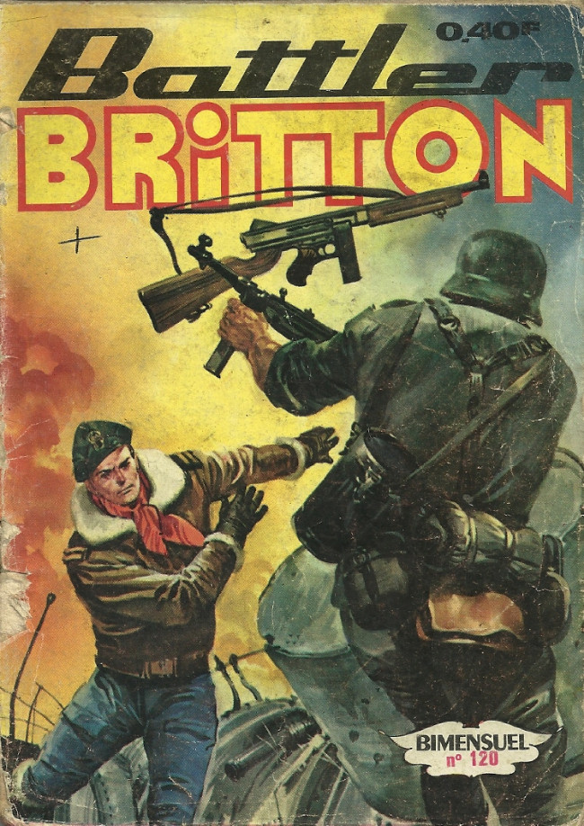 Couverture de Battler Britton -120- La trahison d'Osbourne