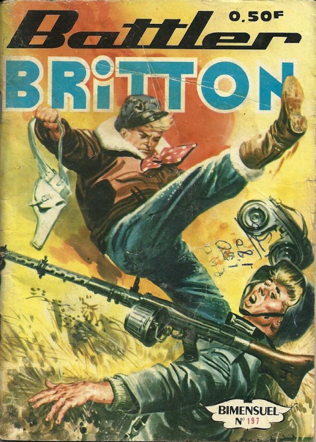 Couverture de Battler Britton -197- Les équipes du sol
