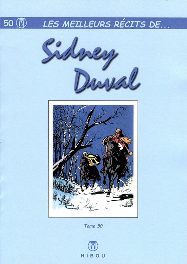 Couverture de Les meilleurs récits de... -50- Sidney