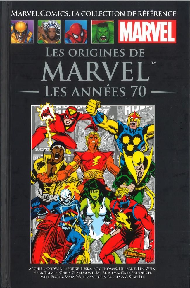 Couverture de Marvel Comics - La collection (Hachette) -110XVI- Les Origines de Marvels - Les Années 70