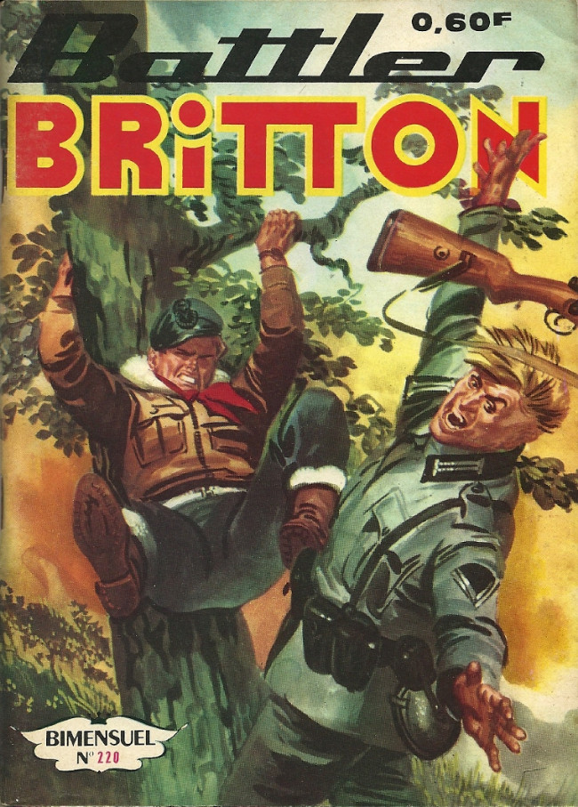 Couverture de Battler Britton -220- Le fléau de l'atlantique
