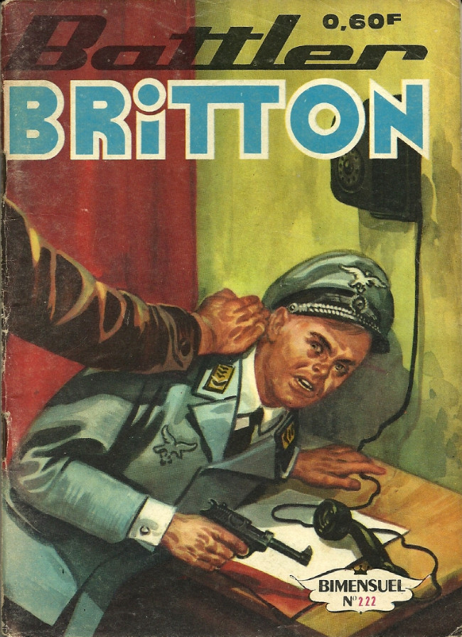 Couverture de Battler Britton -222- Attaque en formation