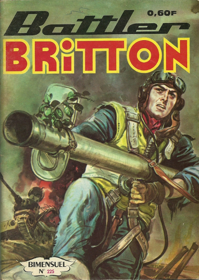 Couverture de Battler Britton -225- Les grognards de Grand