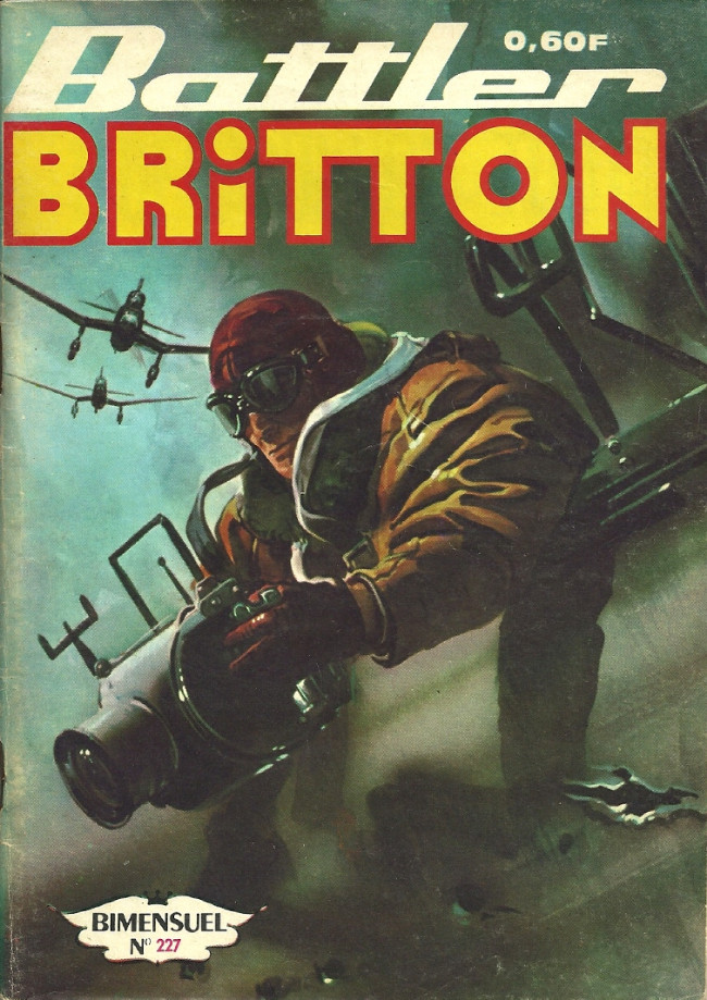 Couverture de Battler Britton -227- L'œil qui voit tout
