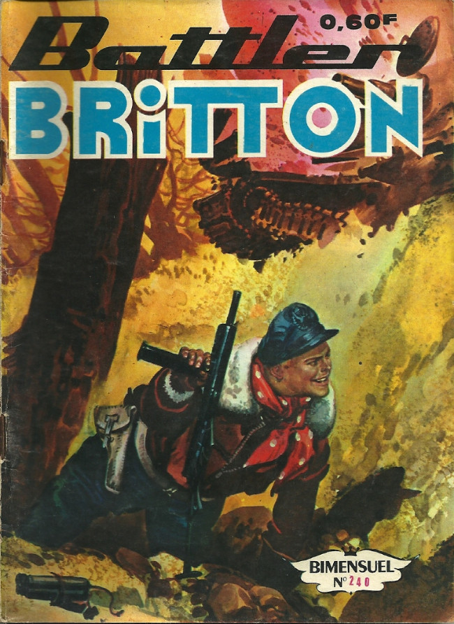 Couverture de Battler Britton (Imperia) -240- L'incorrigible