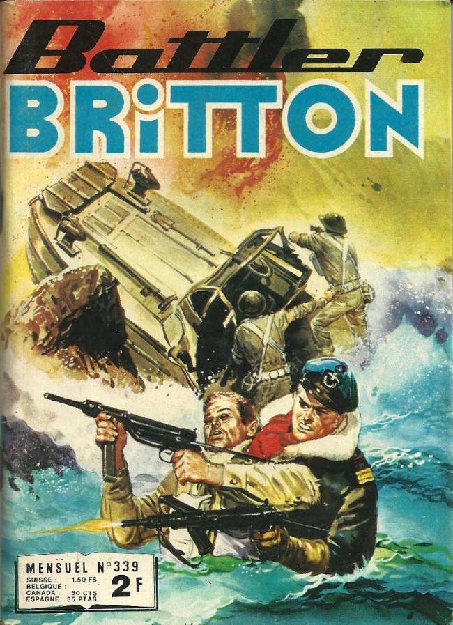 Couverture de Battler Britton -339- Les aigles