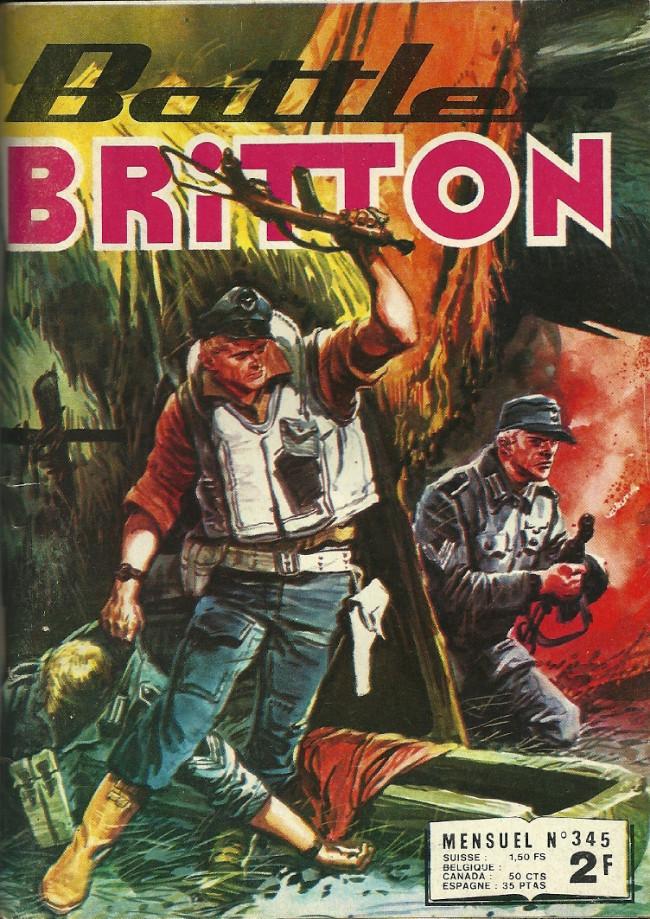 Couverture de Battler Britton (Imperia) -345- Attaque de terreur