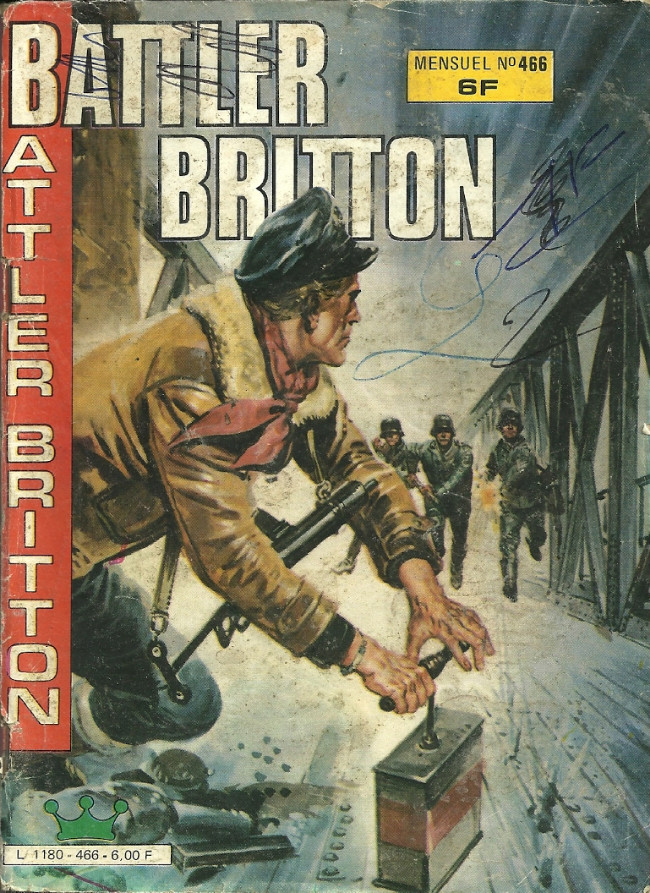Couverture de Battler Britton -466- Mer de feu