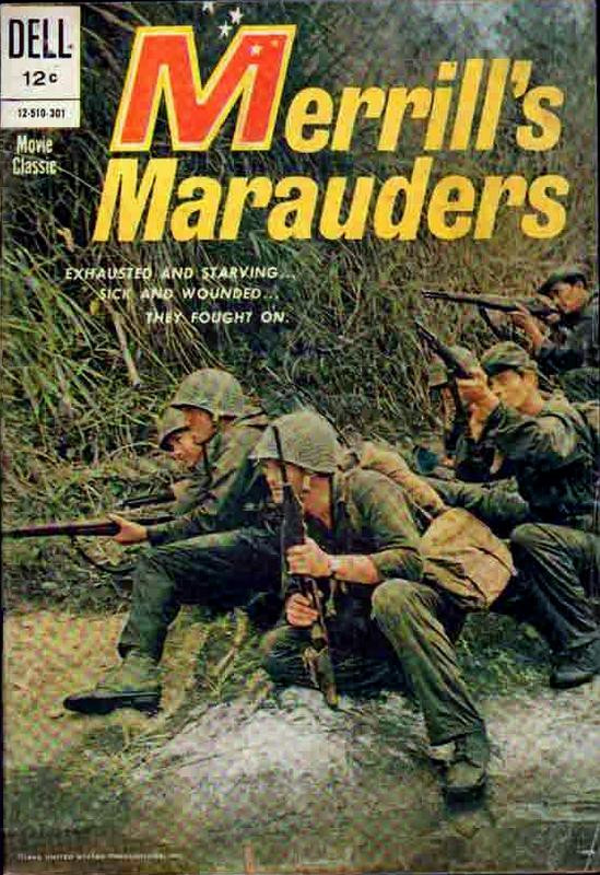 Couverture de Movie Classics (Dell - 1962) -510- Merrill's Marauders