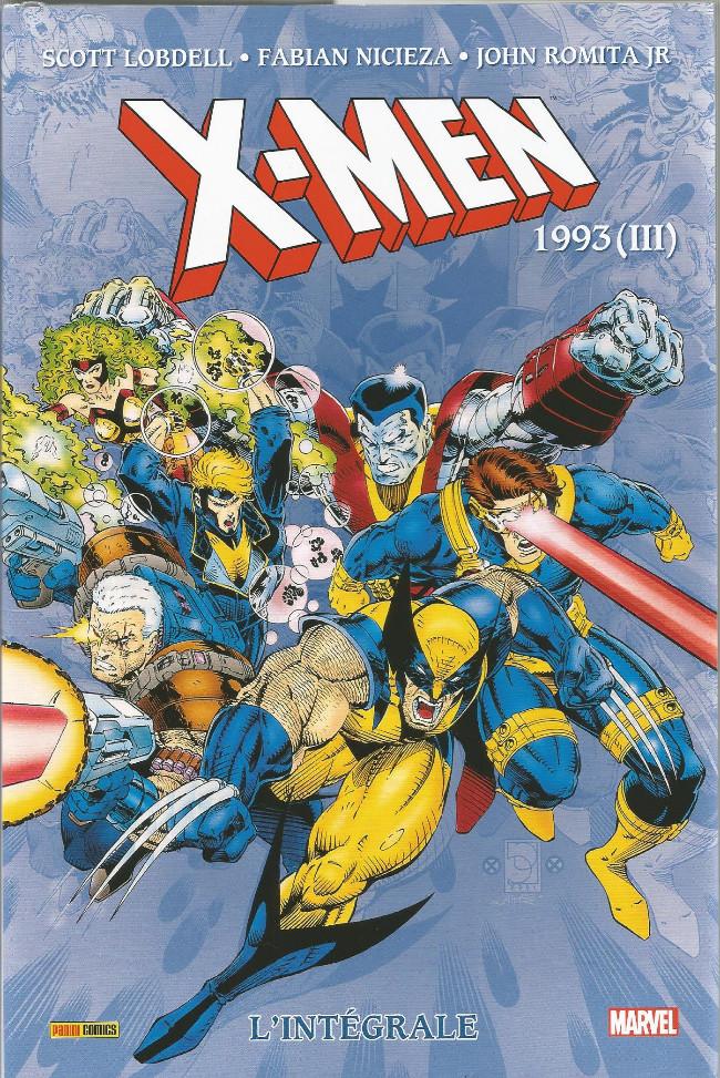Couverture de X-Men (L'intégrale) -34INT- X-Men : L'Intégrale 1993 (III)