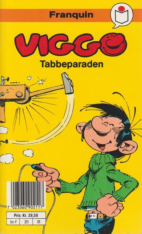Couverture de Gaston (en norvégien) -2a89- Tabbeparaben