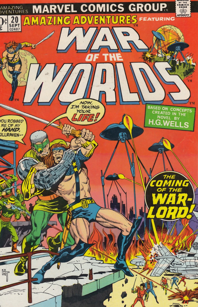 Couverture de Amazing Adventures (1970) -20- The warlord strikes!
