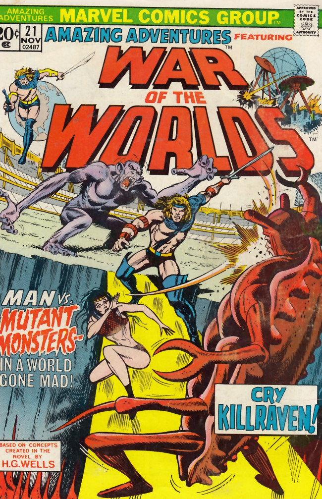 Couverture de Amazing Adventures (1970) -21- The mutant slayers!