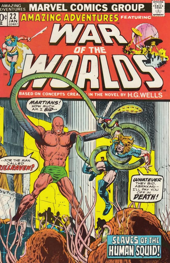 Couverture de Amazing Adventures (1970) -22- Washington nightmare!