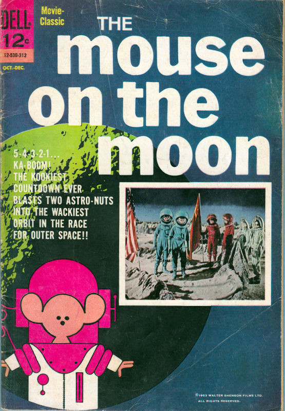 Couverture de Movie Classics (Dell - 1962) -530- The Mouse on the Moon