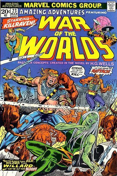 Couverture de Amazing Adventures (1970) -23- The legend assassins