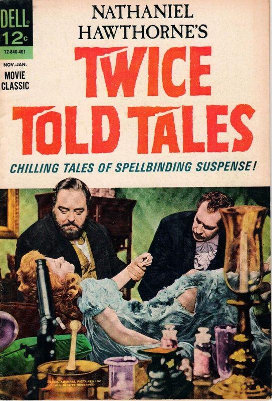 Couverture de Movie Classics (Dell - 1962) -840- Twice Told Tales