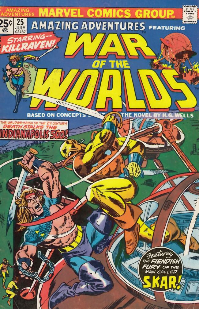 Couverture de Amazing Adventures (1970) -25- The devil's marauder