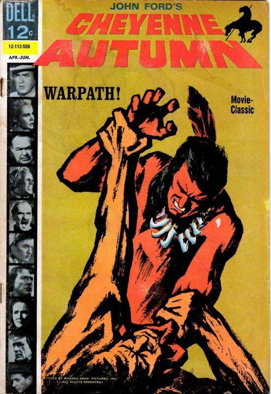 Couverture de Movie Classics (Dell - 1962) -112- Cheyenne Autumn