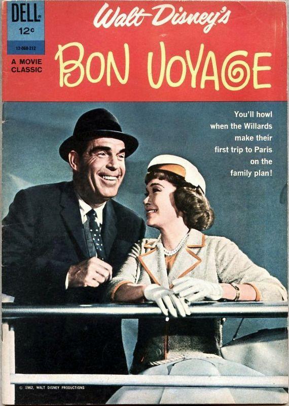 Couverture de Movie Classics (Dell - 1962) -68- Bon Voyage
