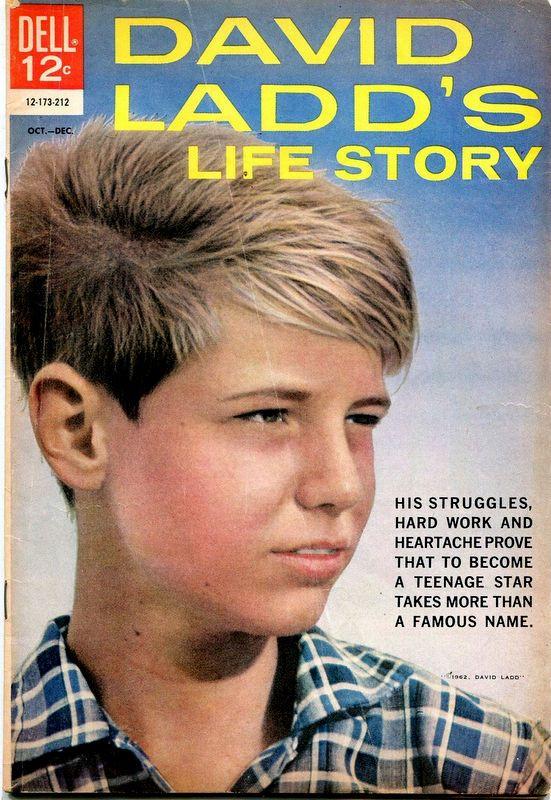 Couverture de Movie Classics (Dell - 1962) -173- David Ladd's Life Story