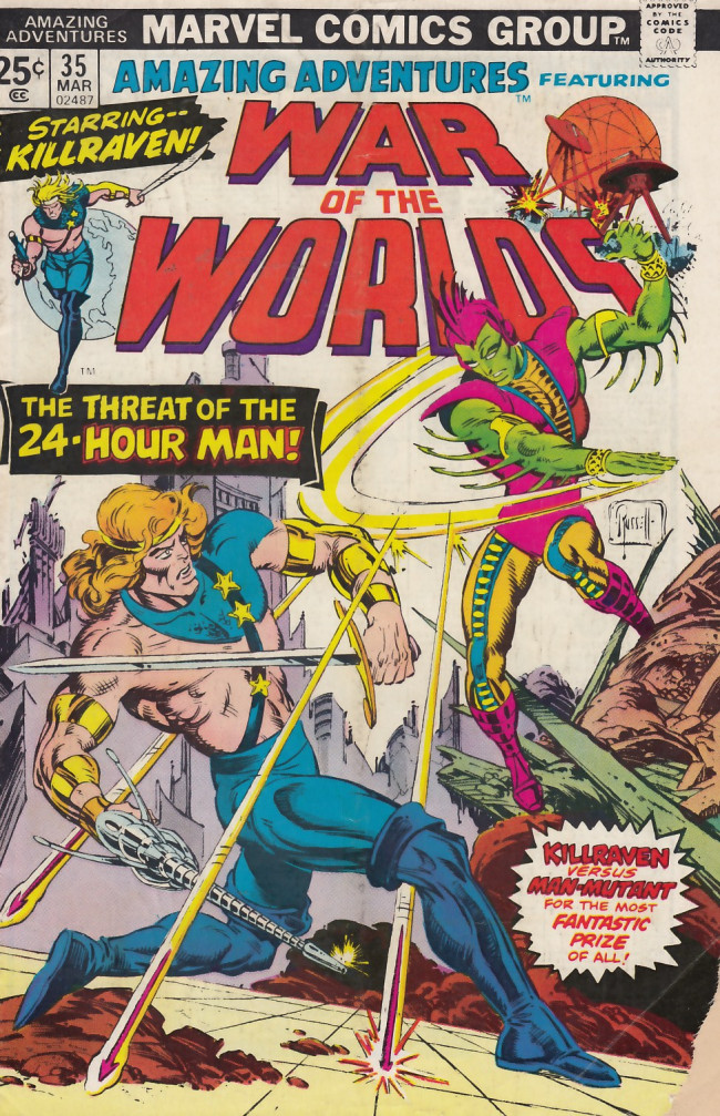 Couverture de Amazing Adventures (1970) -35- The 24-hour man