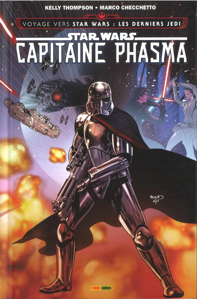 Couverture de Star Wars - Capitaine Phasma - La Survivante
