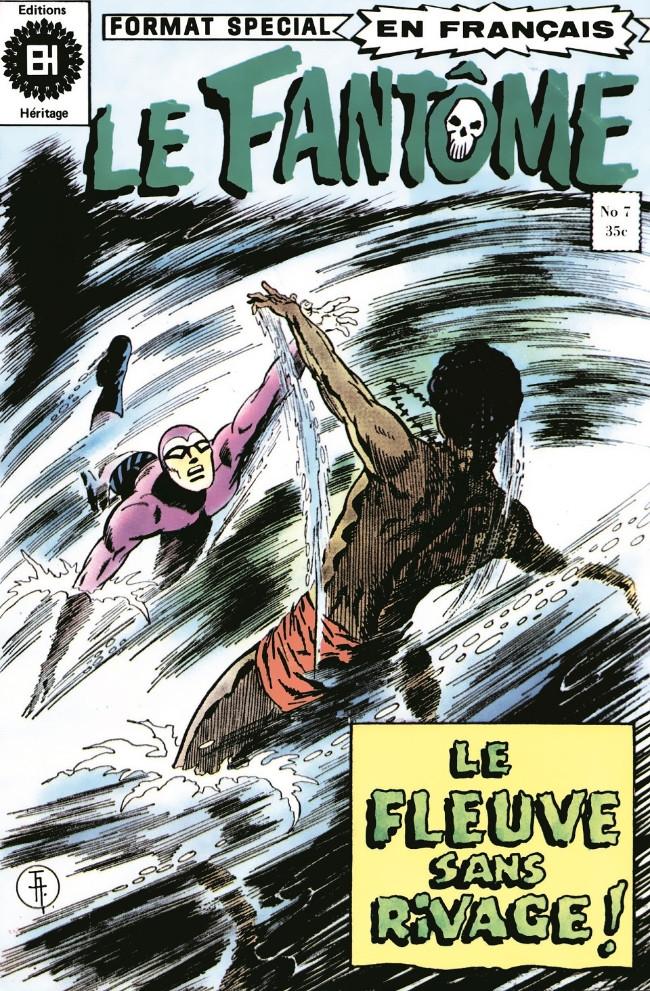 Couverture de Le fantôme (Éditions Héritage) -7- Le fleuve sans rivage !
