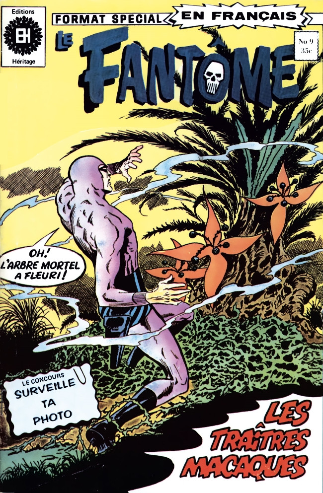 Couverture de Le fantôme (Éditions Héritage) -9- Les traîtres de Bandar