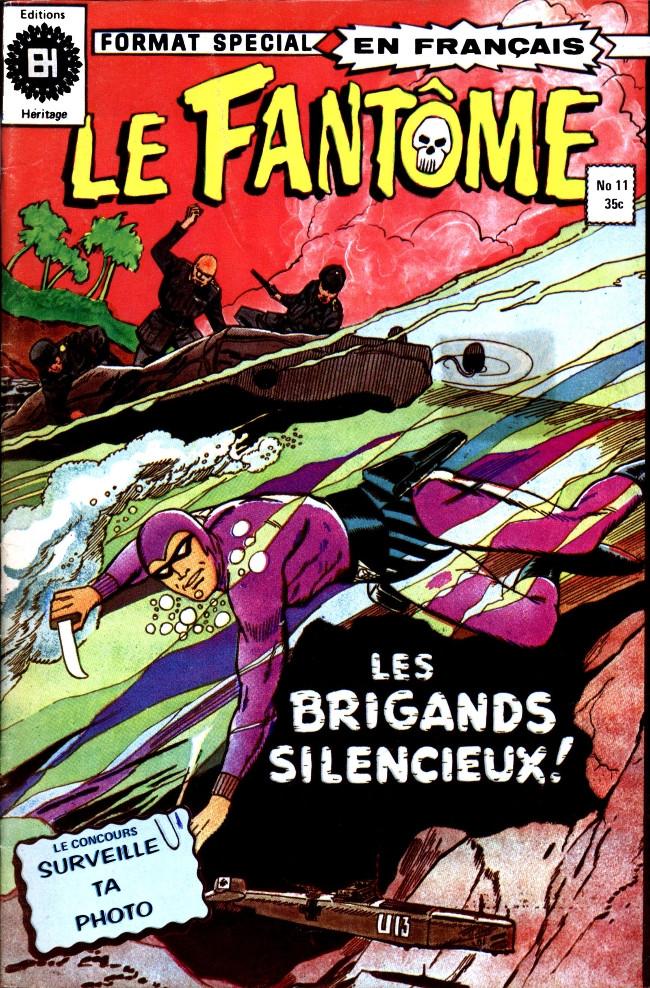 Couverture de Le fantôme (Éditions Héritage) -11- Une petite guerre !