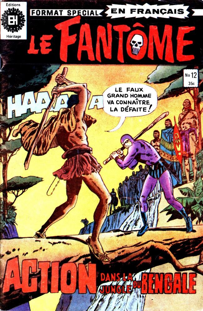 Couverture de Le fantôme (Éditions Héritage) -12- Le rite