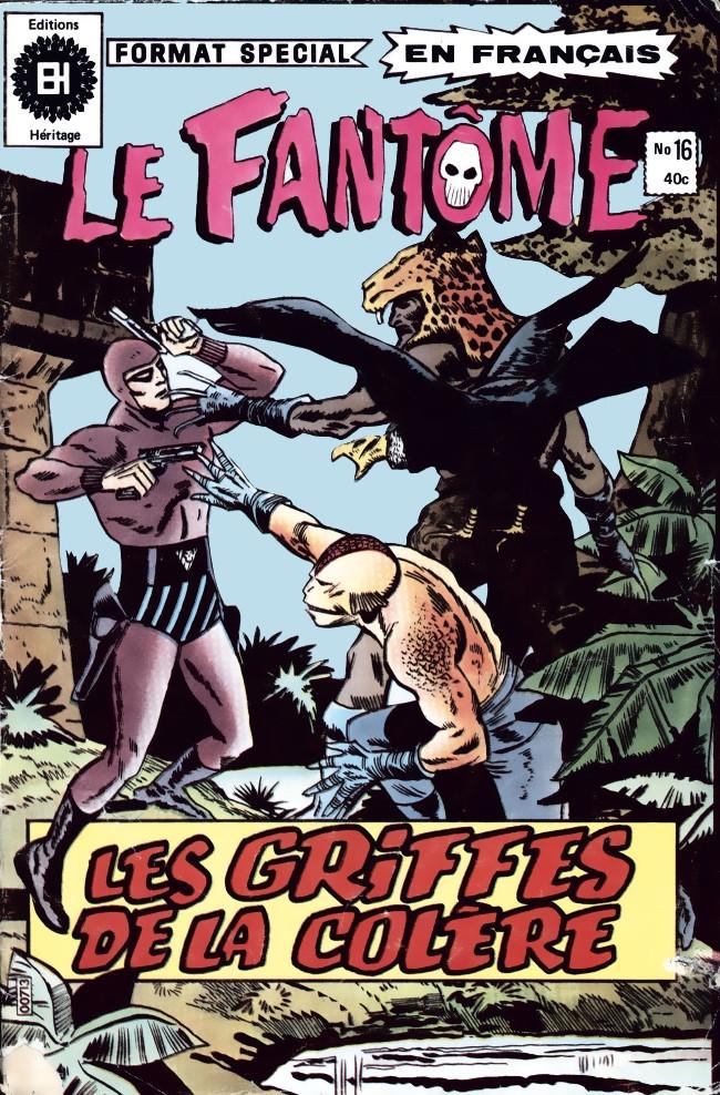 Couverture de Le fantôme (Éditions Héritage) -16- La folie des chats