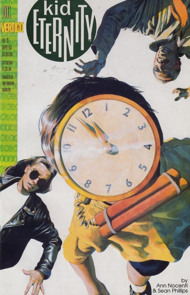 Couverture de Kid Eternity (1993) -5- Kill time till time kills